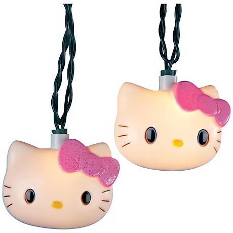Hello Kitty 10-Light String of Party Lights