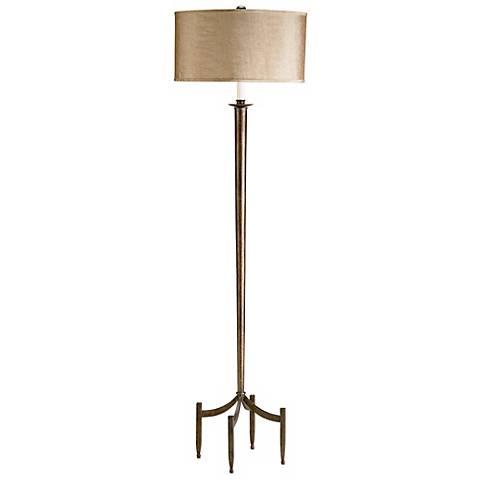 Currey and Company Corridor Dark Bronze Floor Lamp