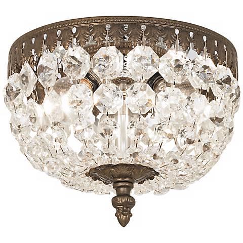 schonbek rialto 8 wide swarovski crystal ceiling light n6650 lamps. Black Bedroom Furniture Sets. Home Design Ideas