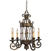 "Minka Atterbury 22 1/2"" Wide 4-Light Chandelier"