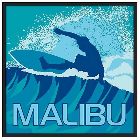 Malibu Surfer Wall Art