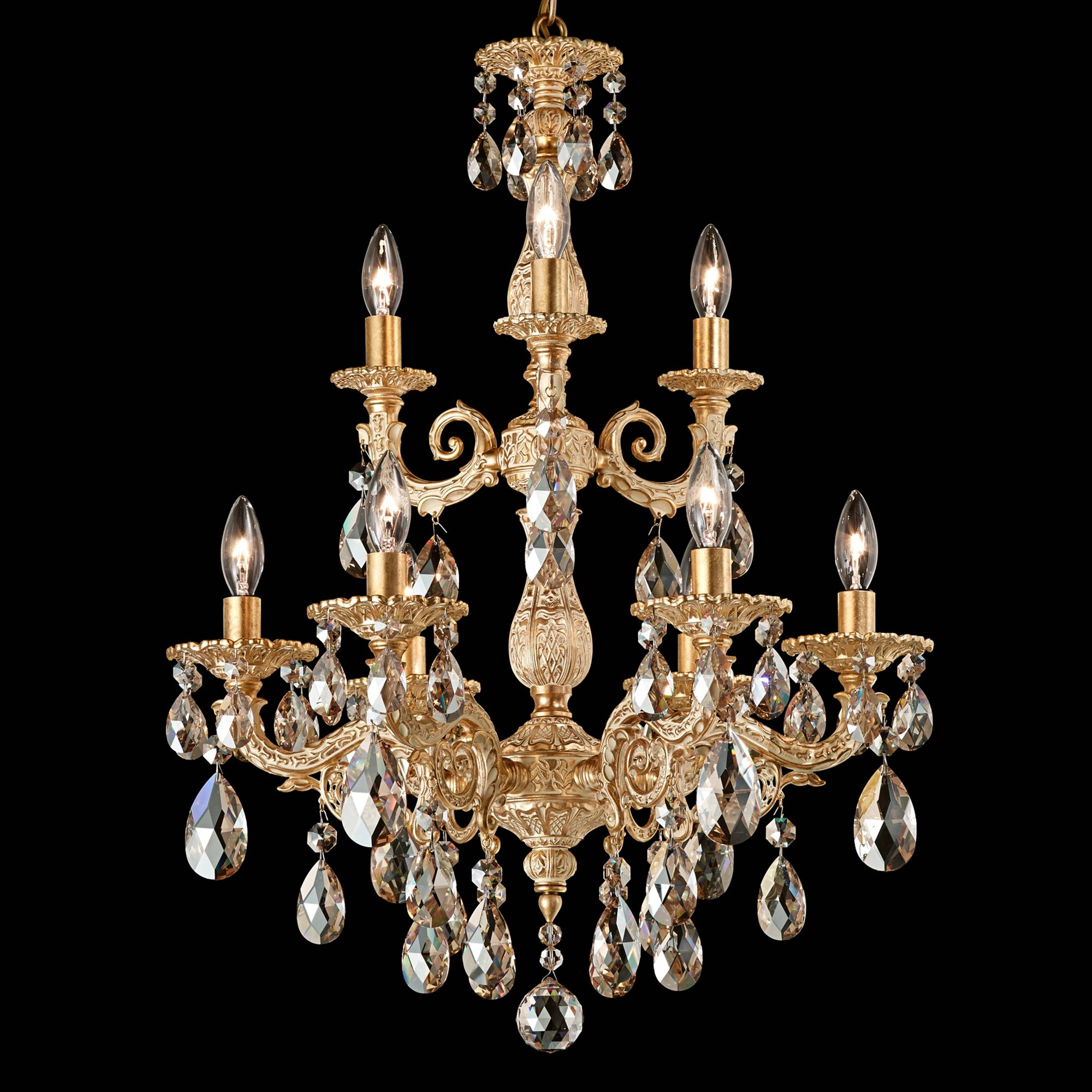 Schonbek Century Collection 30 Quot Wide Crystal Chandelier