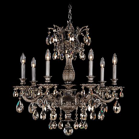 Schonbek Milano Collection 27 Quot Wide Crystal Chandelier