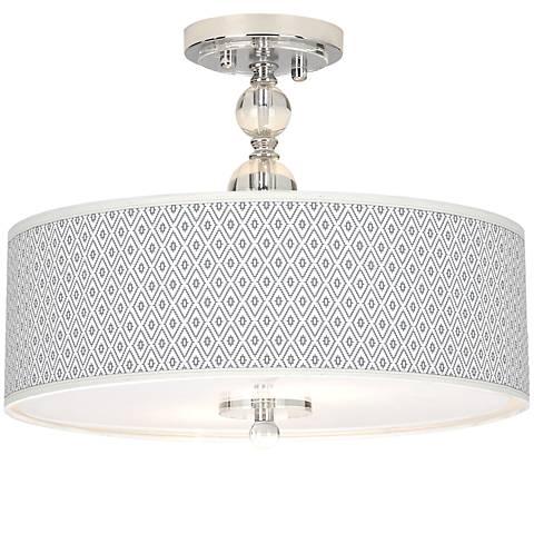 Chrome Flush Mount Ceiling Lights Lamps Plus