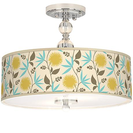 "Seedling by thomaspaul Dahlia 16"" Wide Ceiling Light"