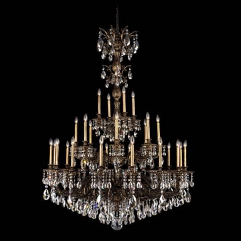 Schonbek Milano 50 Quot W Midnight Swarovski Crystal Chandelier