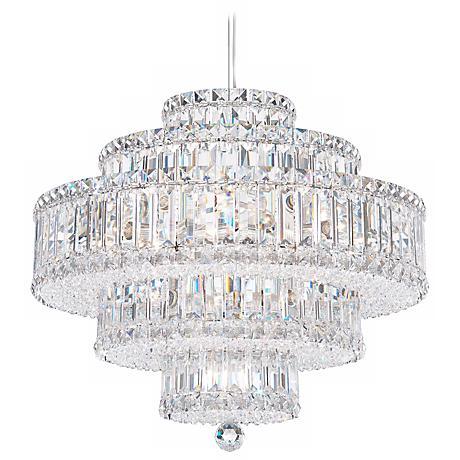 Schonbek Plaza Collection 22 Light Crystal Chandelier