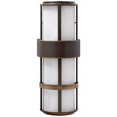 "Hinkley Metro Bronze 20 1/2"" High Outdoor Wall Light"