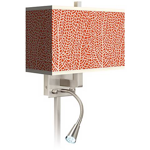 Stacy Garcia Seafan Coral LED Reading Light Plug-In Sconce