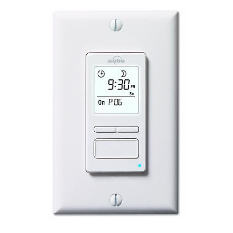 Econoswitch 500w 7 Day Programmable Timer Wall Switch