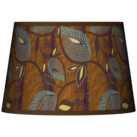 Stacy Garcia Vine Peacock Tapered Shade 13x16x10.5 (Spider)