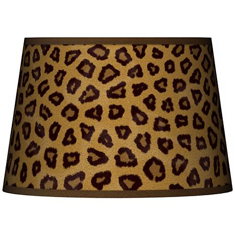 Safari Cheetah Tapered Lamp Shade 13x16x10.5 (Spider)
