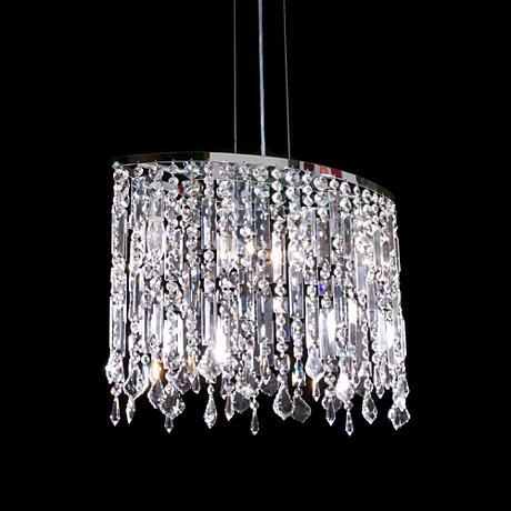 James R Moder 4 Light Imperial Crystal Chandelier
