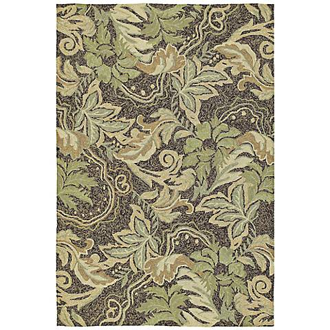 Home and Porch Coffee Bluff Area Rug
