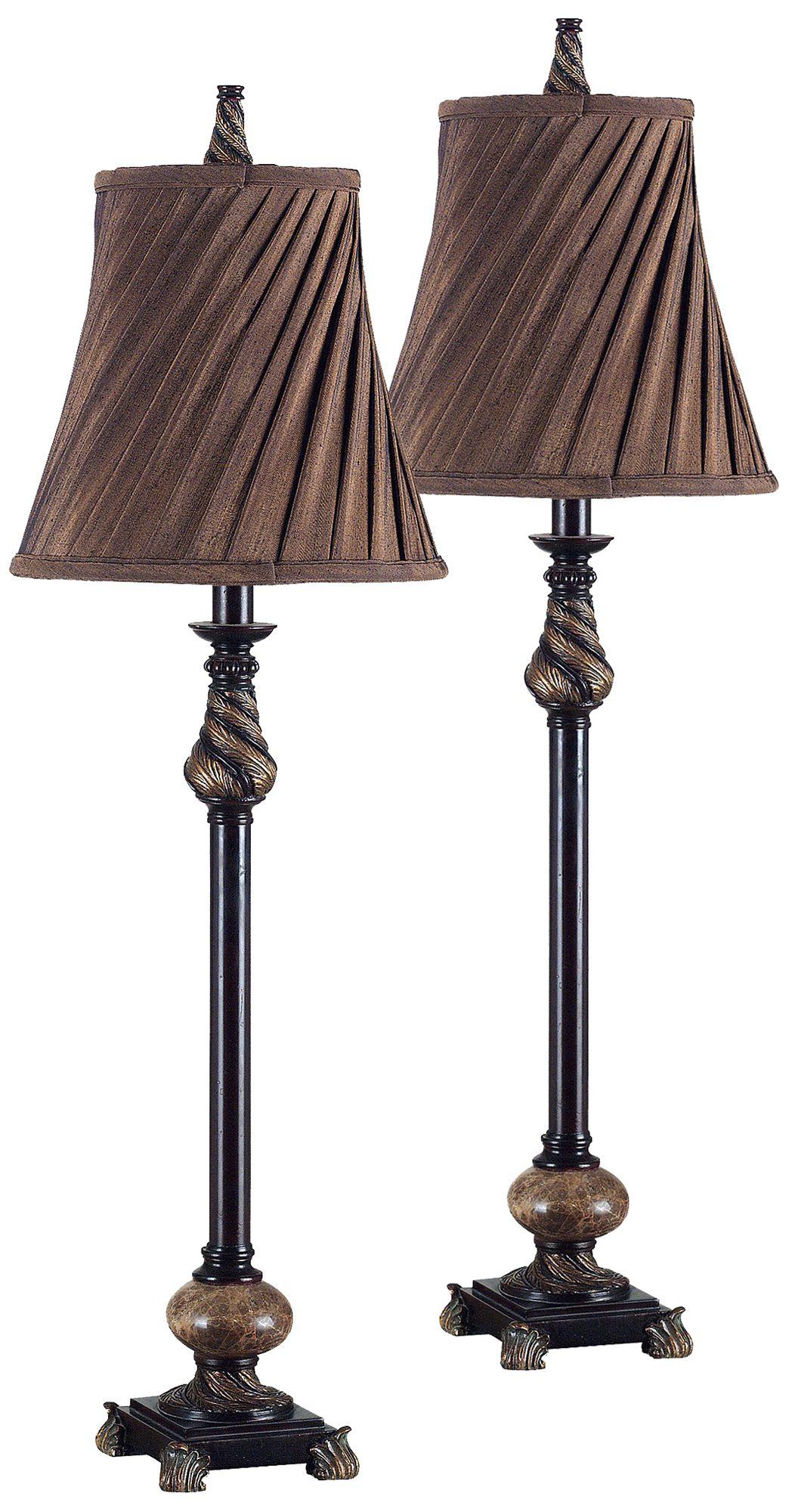 Transitional Buffet Lamps Table Lamps Lamps Plus