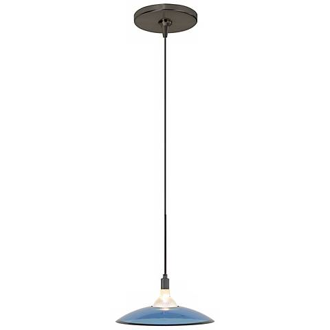 Diz Steel Blue Bronze Tech Lighting Mini Pendant