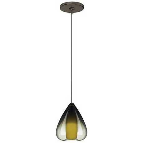 Soleil Olive Green Bronze Tech Lighting Mini Pendant