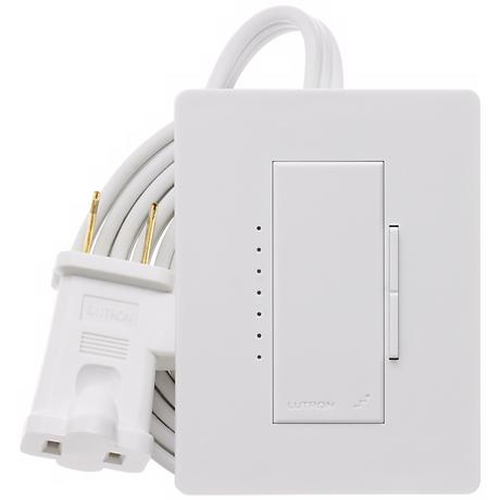 Lutron Maestro White Plug-In Lamp Dimmer