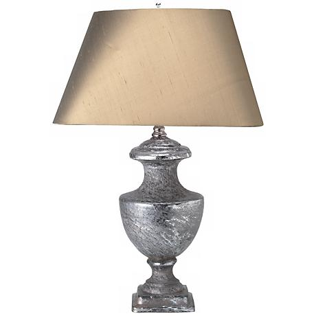 Jamie Young Minie Lee Textured Mercury Glass Table Lamp