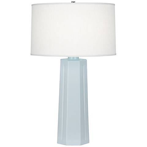 "Robert Abbey Mason Baby Blue 26"" High Table Lamp"