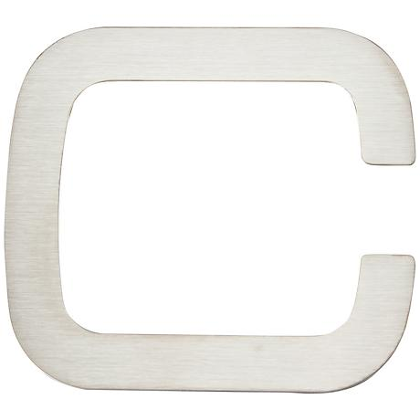 Paragon Collection Stainless Steel House Letter C