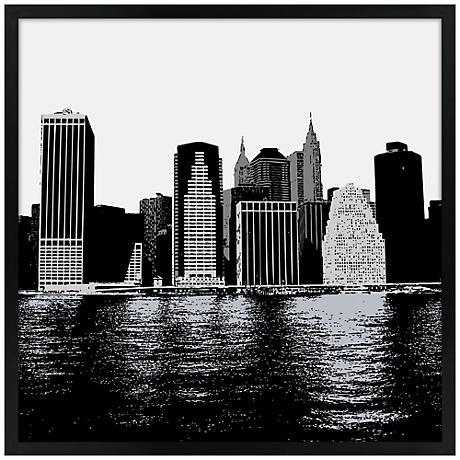 New York Skyline Wall Art
