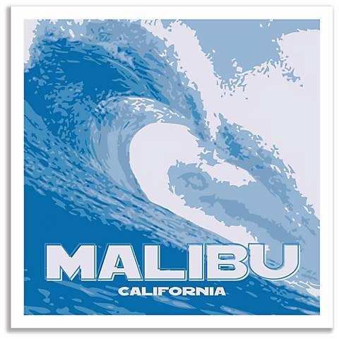 Malibu Wave Wall Art