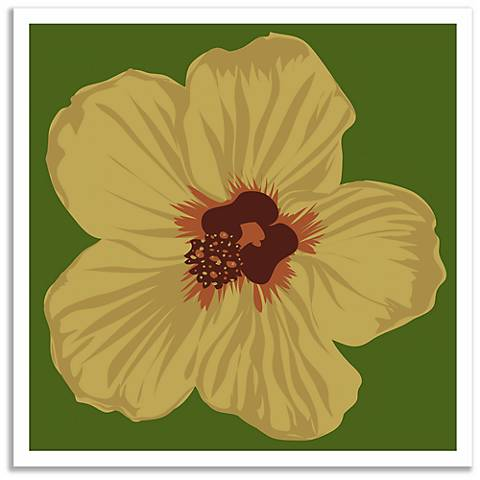Attractive Hibiscus Wall Art Frieze - Wall Painting Ideas ...