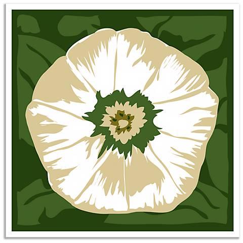 White Flower Wall Art