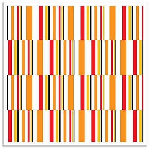 Summer Stripes Wall Art