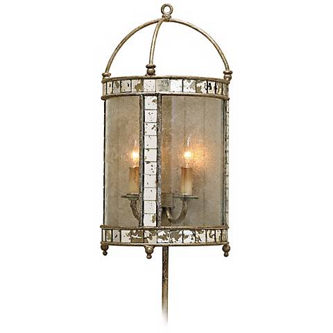 Currey and Company Corsica Plug-In Wall Sconce