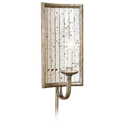 """Currey and Company Twilight 16"""" High Plug-In Wall Sconce"""