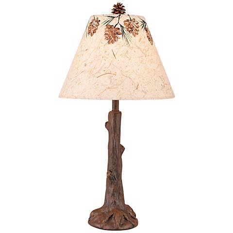 Tree Trunk with Roots Accent Lamp