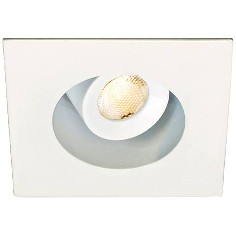 """2"""" LED Recessed Downlight In White From WAC"""