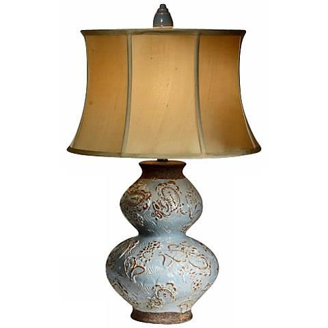 Natural Light Bombay Rebel Ceramic Table Lamp