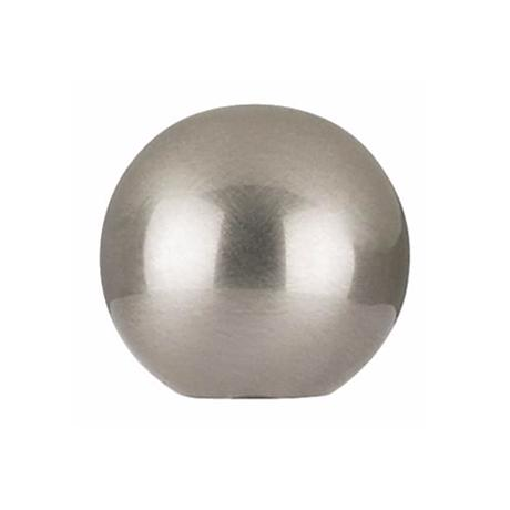 Brushed Nickel Finish Round Lamp Shade Finial