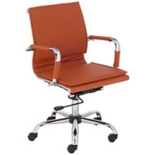 Tanner Terra Cotta Faux Leather Lowback Desk Chair