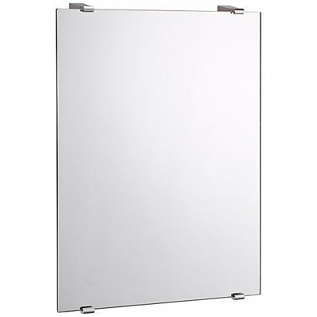 """Gatco Chrome Bleu 31"""" High Wall Mirror"""