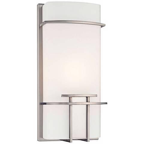 "George Kovacs Modern Mission 13 1/2"" High ADA Wall Sconce"