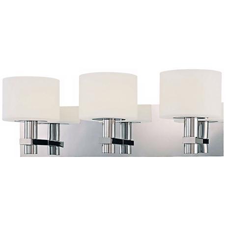 george kovacs stem 21 wide bathroom wall light p6740 lamps plus