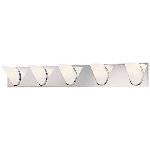 """George Kovacs Angle 36 3/4"""" Wide Bathroom Wall Light"""