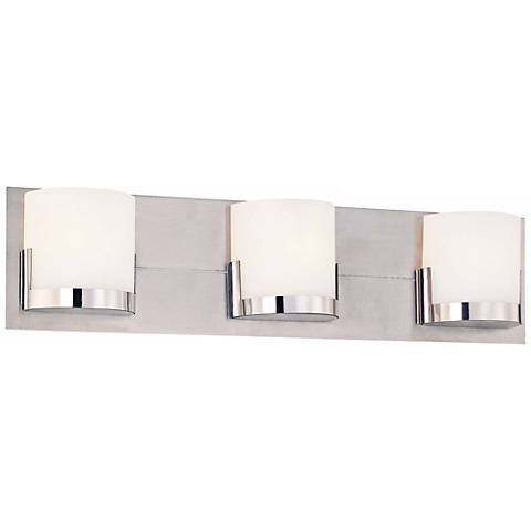"George Kovacs Convex 21"" Wide Bathroom Wall Light"