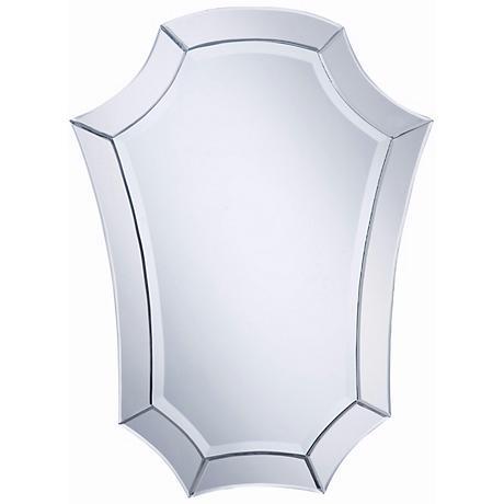 """Nouveau Shield 32"""" High Wall Mirror"""