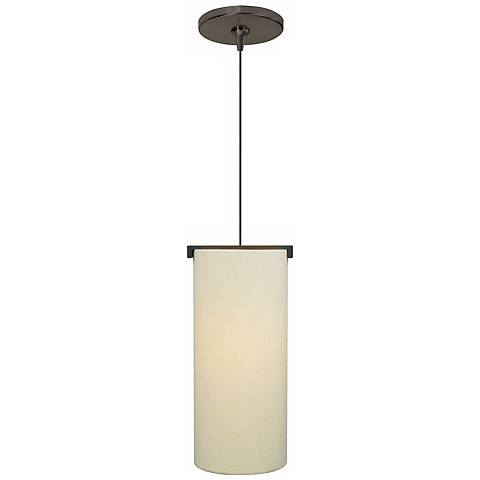 Boreal Ivory Shade Bronze Tech Lighting Mini Pendant