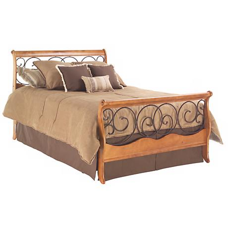 Dunhill Sleigh Bed