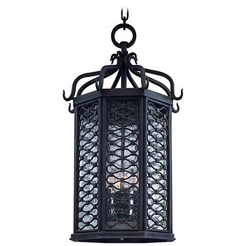 "Los Olivos Collection 25 1/4"" High Outdoor Hanging Light"