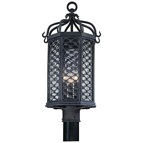 """Los Olivos Collection 23"""" High Outdoor Post Light"""