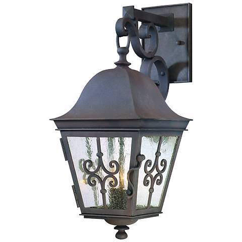 """Markham Collection 19 3/4"""" High Outdoor Wall Light"""