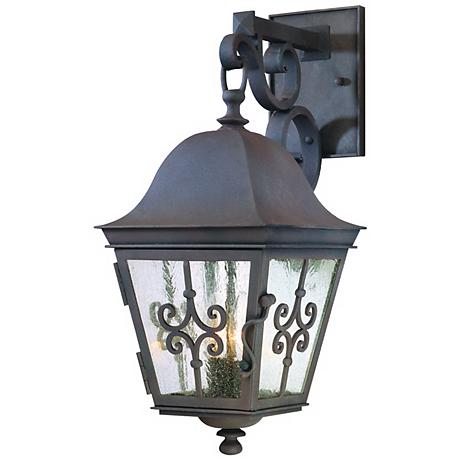 "Markham Collection 19 3/4"" High Outdoor Wall Light"