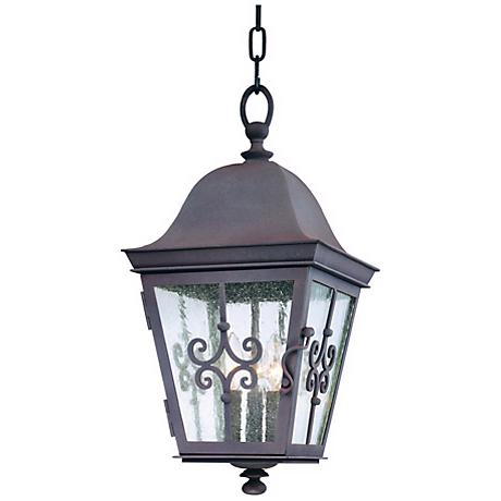 """Markham Collection 20 3/4"""" High Outdoor Hanging Light"""